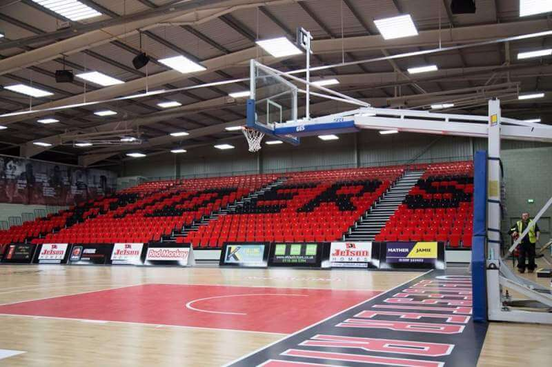 leicester riders arena seating