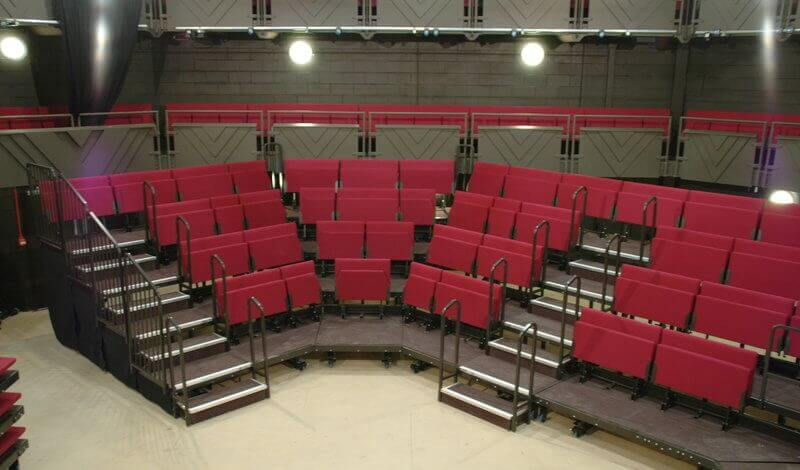 sheffield crucible studio theatre seating - RS26 retractable