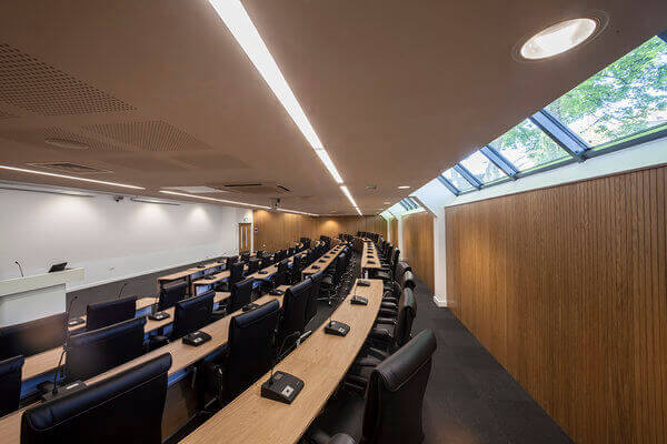 University of Sheffield lecture hall design
