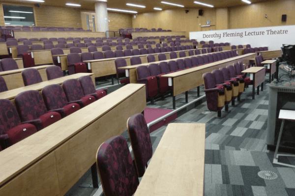 sheffield hallam lecture theatre design