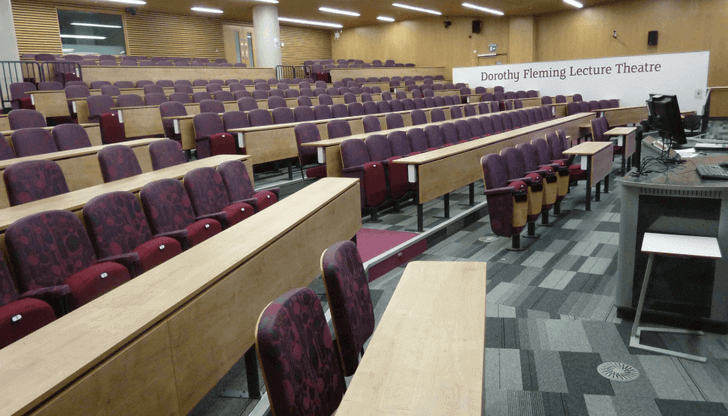 sheffield hallam lecture theatre design