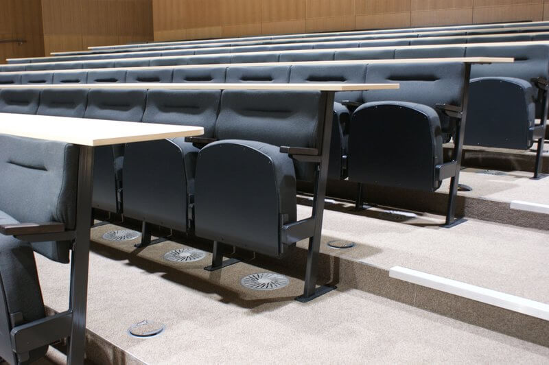fixed lecture seating - oxford