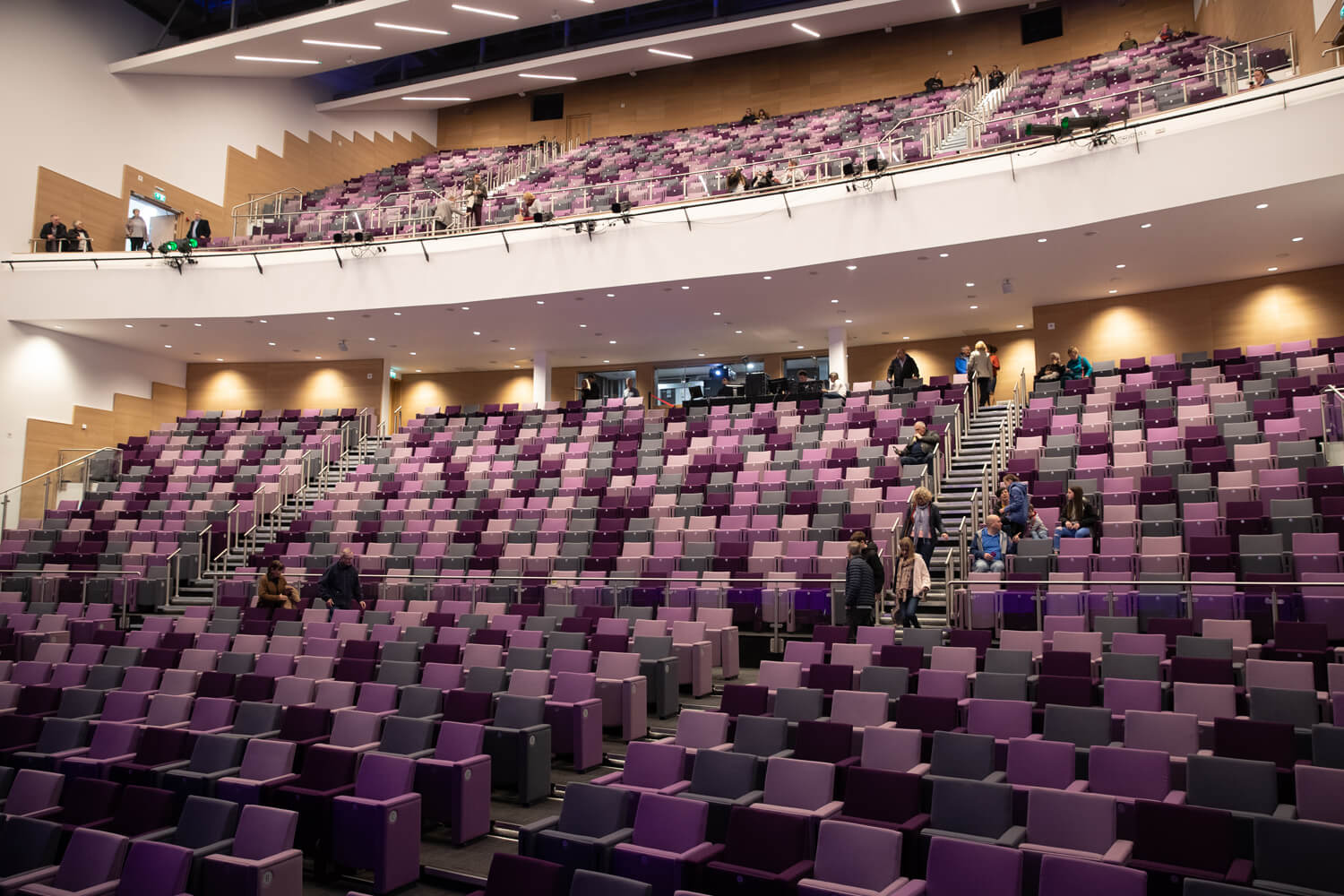 conferance seating icc wales