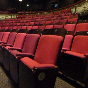 retractable seating-york theatre