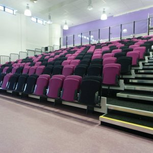 retractable lecture theatre seating