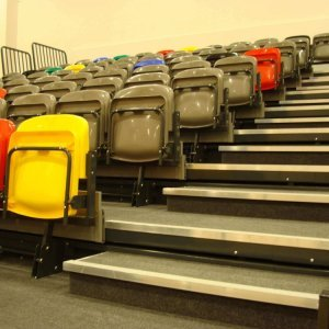 retractable seating units